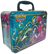 Pokemon 2015 Chest Tin | 5 x Booster Packets 3 Foil/Holo Cards Albums and more!