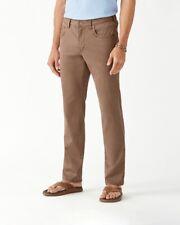 NEW Tommy Bahama Boracay 5-Pocket Chino Pants 33X34 Vintage Fit British Bourbon