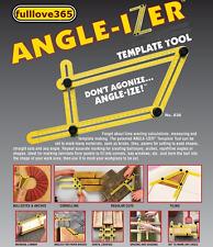 Angle-Izer Ultimate Tile & Flooring Template Tool Multi-Angle Ruler 2017 US