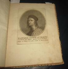 1799 Storia Vecchio Nuovo Testamento in figure Raffaello Sanzio BIBBIA INCISIONI