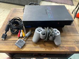 Playstation 2 PS2 SPCH-39001 Console, 1 Controller +Cords-TESTED Works Great