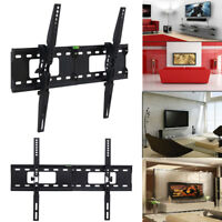"Flat TV Wall Mount Bracket 15° Tilting For 26 32 37 42 47 50 55 60 70"" inch LED"