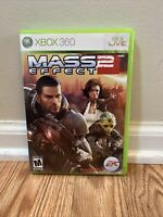 Mass Effect 2 (Microsoft Xbox 360, 2010) Pre-owned