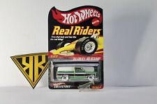 Hot Wheels 83 Silverado Green spectraflame Custom With Carded Custom( Read Des.)