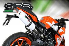SILENCIEUX GPR ALBUS KTM RC 125 2017/2018 - KTM.80.ALB
