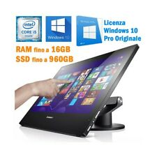 "COMPUTER ALL IN ONE LENOVO E93Z i5 4440S 21.5"" FHD TOUCHSCREEN WINDOWS 10 PRO-"