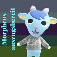 Animal Crossing New Horizons 💙Morpheus / Sherb💙 auszugsbereit