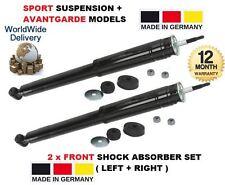 für Mercedes E-Klasse Sport W210 1995-2002 vorne links + rechts Stoßdämpfer Set