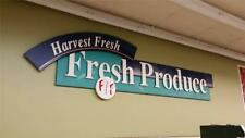 Deli, Meat, Dairy, Seafood, Produce, Floral, Wine Signs Complete Store Package!