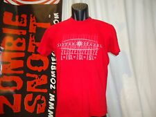 Sister Hazel red small t-shirt, alternative rock band from Gainesville, Florida
