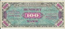 1944 MPC Military Payment Certificate German 100 Mark Note Deutsche #247