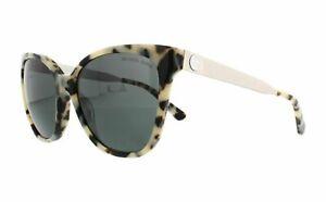 Michael Kors sunglasses MK2058 331287 55 Silver Cream Tortoise Grey Lens  Napa