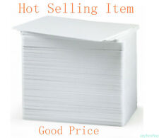 100pc 30mil 0.76mm CR80 blank White PVC ID ISO Card Dye-Sublimation Card Printer