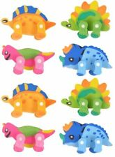 8 x Dinosaur erasers Party Bag Favours (2 lots of 4 different)