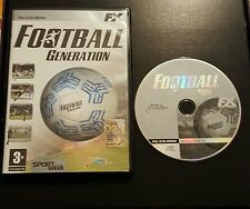 Football Generation CD ROM