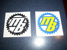 Cycling Sticker Decals MB