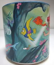 Vintage DISNEY Coffee MUG Cup The LITTLE MERMAID Japan Ceramic Flounder Ariel