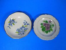 "JAMES KENT STAFFORDSHIRE England OLD FOLEY Mini PLATE 3.5"" blue Flowers, 1 Japan"