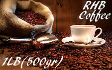 RHB Coffee Espresso Fresh Roasted Whole Beans Dark Gourmet 1Lb 500gr