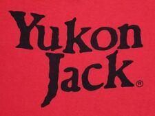M * vtg 1978 YUKON JACK t shirt * Canada liquor alcohol * 45.159
