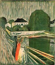 Edvard Munch Prints: Girls On The Pier - Fine Art Print