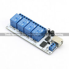 sainsmart 4 Channel USB 5V Relay Automation Module Board For Arduino PIC DSP AVR