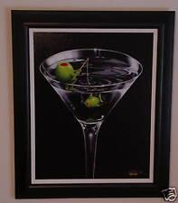 """Michael Godard-""""GONE FISHING""""-Martini-Fisherman-Art-FR"""