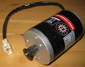 Currie Technologies Scooter Motor - 24V DC - 135W - MY6812 - 3000 RPM