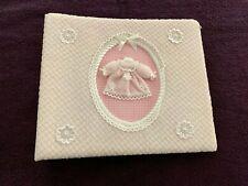 """BABY PHOTO ALBUM - Pink - Holds 200 4"""" x 6"""" Pictures"""