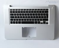 " Topcase Tastatur Palmrest Gehäuse 15,4"" Apple MacBook Pro A1286 2010 QWERTY"