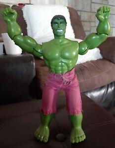 "Signed Lou Ferrigno Vintage 1978 MEGO Marvel Comics 12"" Incredible Hulk Figure"