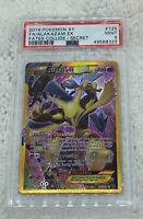 Pokemon 2016 XY Fates Collide Alakazam EX 125/124 PSA 9 Secret