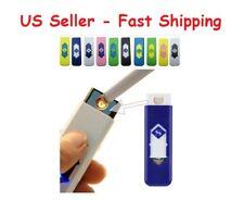 USB Lighter Rechargeable Electronic Lighter Cigarette Turbo Lighter Flameless