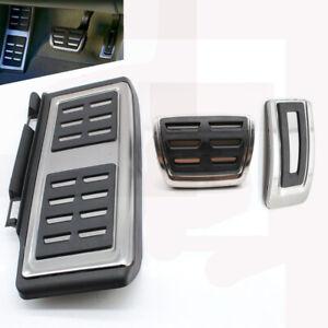 Edelstahl Automatische Fußstütze Pedalset Passt Für VW Passat B8 Golf Seat Audi