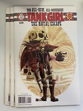 IDW TANK GIRL : THE ROYAL ESCAPE #1 : 3-COPY LOT : NM CONDITION