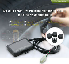 XTRONS TPMS01 Car Tire Pressure Monitoring System Wireless 4 External Sensors