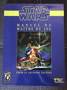 Jeu de Role - Star wars D6 descartes Manuel du maître de jeu