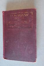 Vintage Frederick Humphrey's Medical Advisor Hardback Book, c 1926