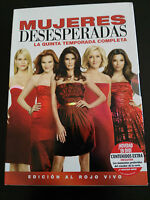 MUJERES DESESPERADAS DESPERATE HOUSEWIVES TEMPORADA SEASON 5 COMPLETA - 7 DVD AM