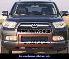For 10-11 2011 Toyota 4Runner Bumper Black Billet Grille