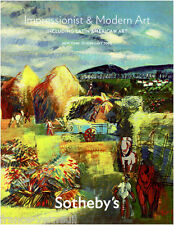 Sotheby's Modern art Impressionist 13 February 2008 Painting Latin American