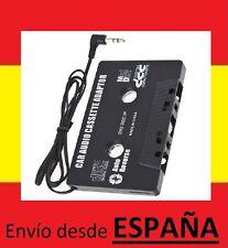 Adaptador casette coche AUXILIAR AUX mp3 mp4 cassette camion reproductor ipod