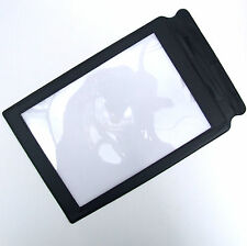 LARGE A4 Fresnel Full Page Sheet Magnifier  Glass Reading Aid Lens