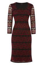 Knee Length Formal Striped Dresses for Women