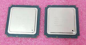 Match Pair Intel Xeon E5-2697 V2 2.7 GHz 12 Core Server CPU Processor SR19H