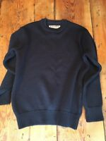 Filson Men's Guide Sweater - Navy Blue,Medium Made in the USA