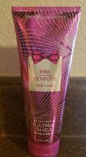 Bath & Body Works Pink Confetti Pear Cassis 8 oz Body Cream NEW Fast Ship
