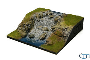 Tabletop | Gelände | Terrain Flussmodul Wasserfall 2