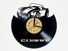 Reloj de pared disco de vinilo, diseño de cobra Dormitorio Playroom Office Hogar Tienda de arte