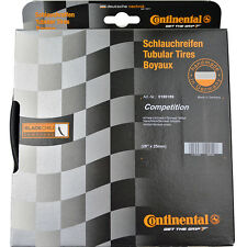 "NEW 2018 CONTINENTAL COMPETITION Black Chili Tubular Tire: 28""x25mm, 700x25c"